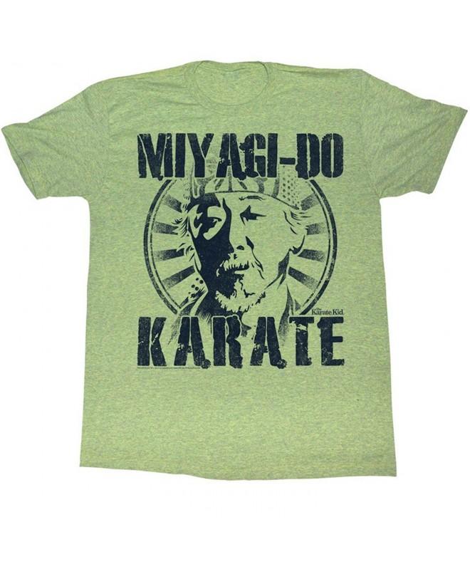 Karate Kid Miyagi T Shirt Triblend
