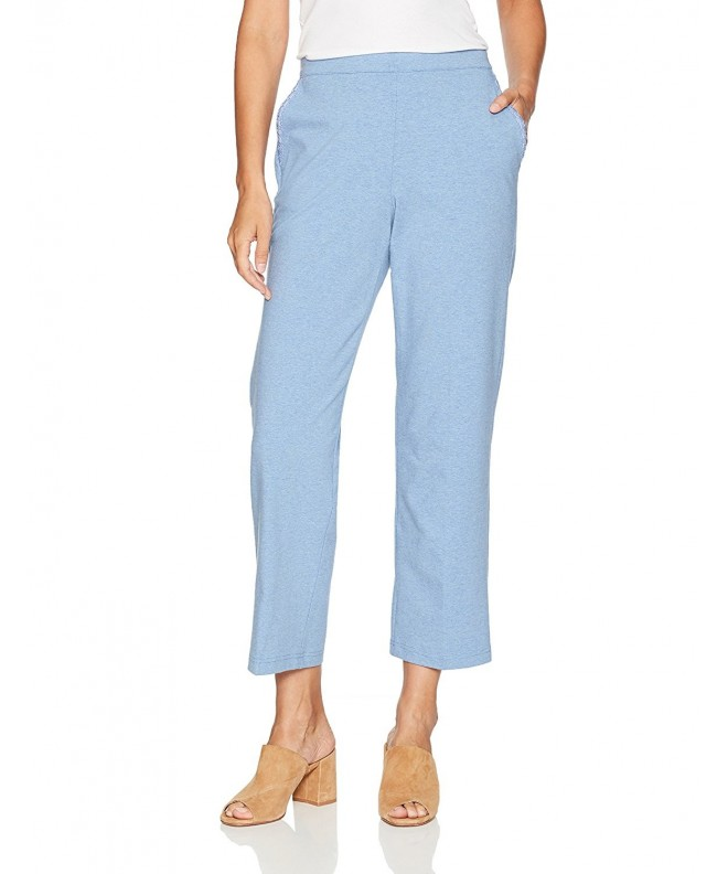 Alfred Dunner Weekend Proportioned Periwinkle