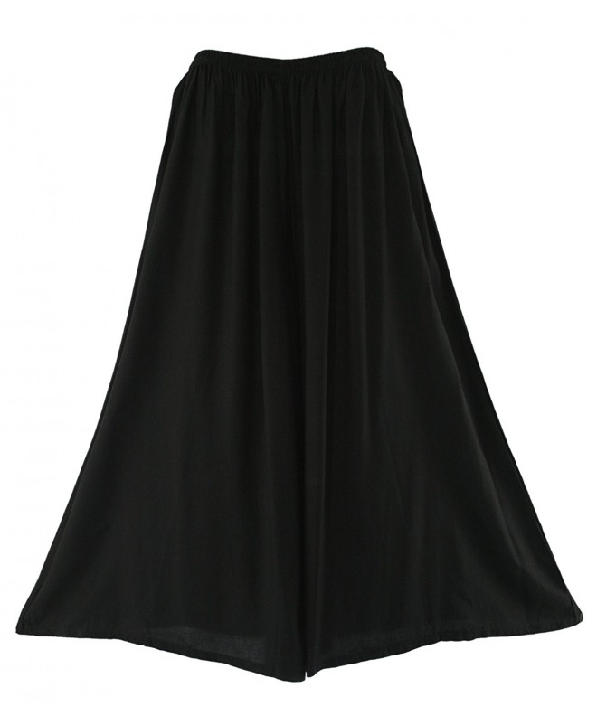 Beautybatik Black Palazzo Pants Trouser