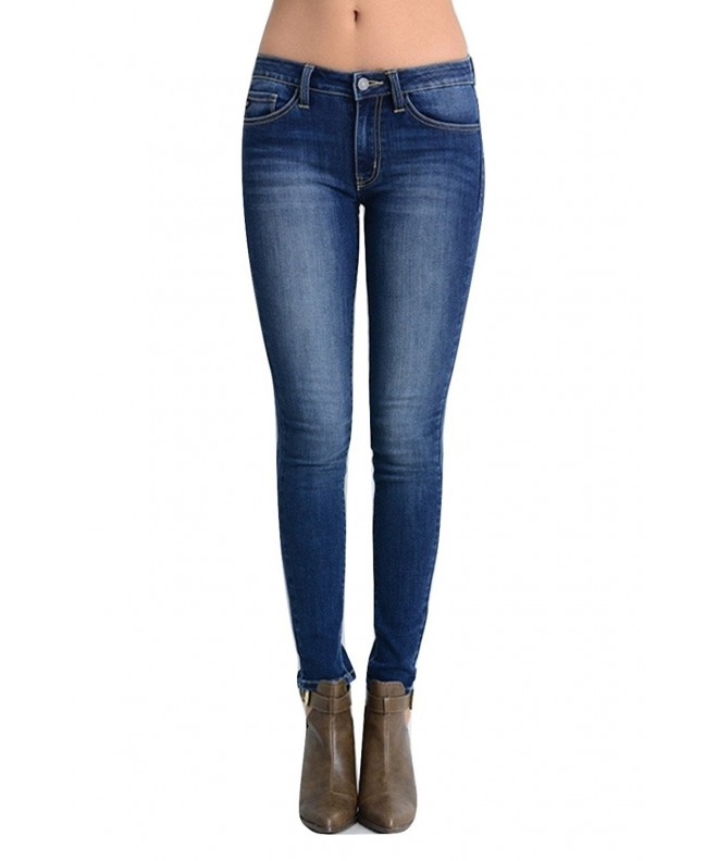 KAN CAN Womens Skinny Darkstone