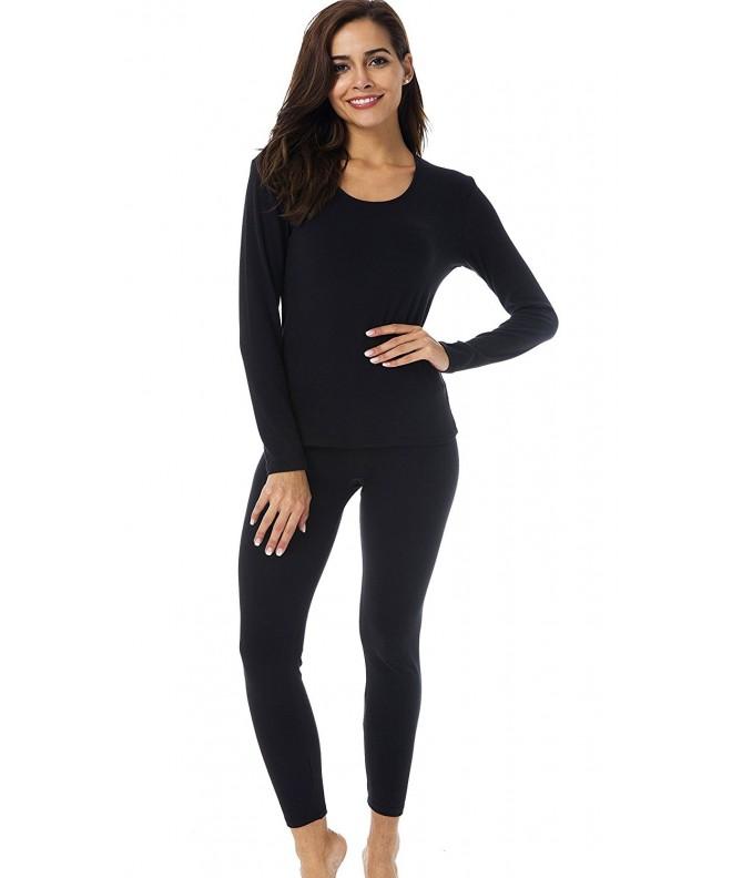 HieasyFit Womens Thermal Underwear Fleece