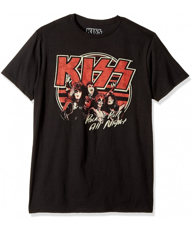 Kiss Short Sleeve Graphic T Shirt Black