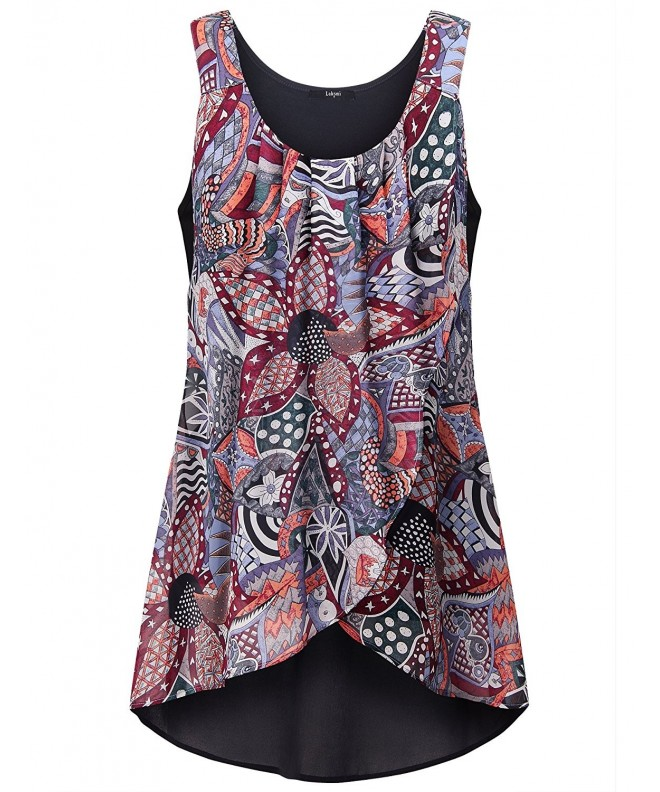 Laksmi Fashion Business Patchwork Sleeveless
