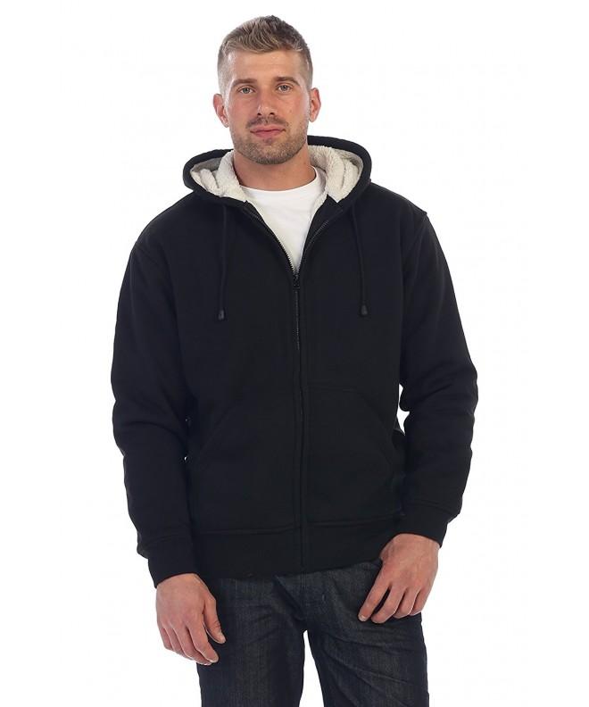 Gioberti Sherpa Fleece Hoodie Jacket