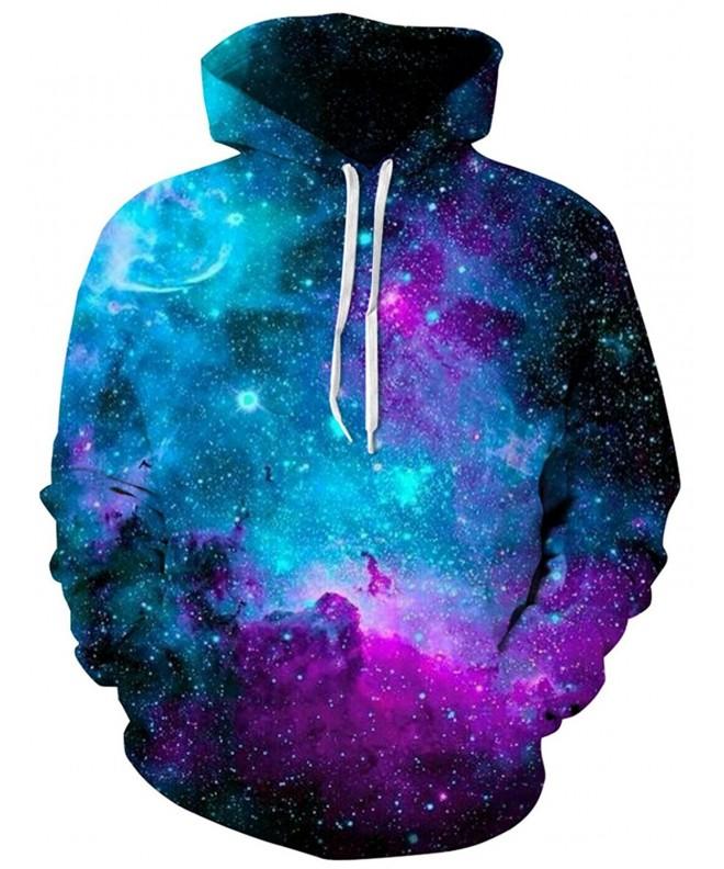 Loveternal Realistic Outerspace Pullover Sweatshirt