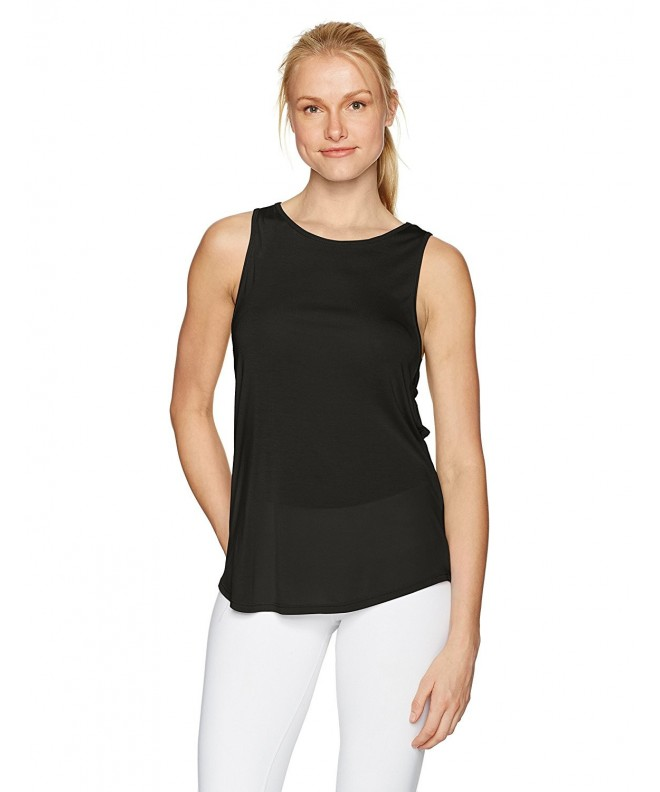 NUX Womens Kobo Tank Black