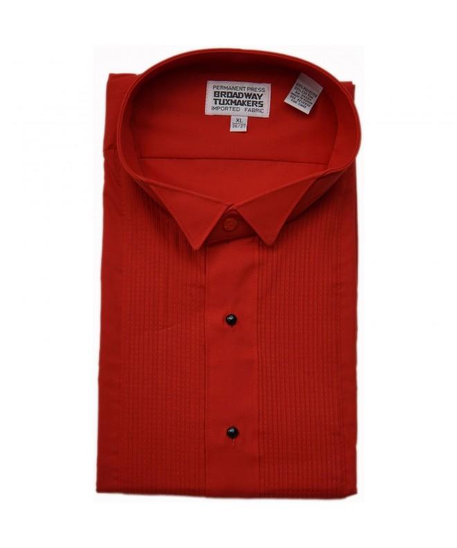 Mens Wing Collar Tuxedo Shirt
