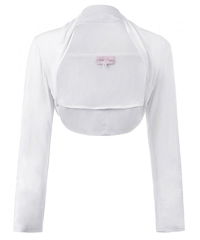 Womens Bolero Jacket Sleeve Front