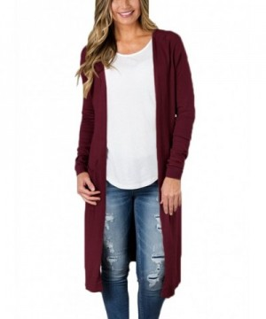 FIYOTE Coverups Cardigan Sweater Pockets