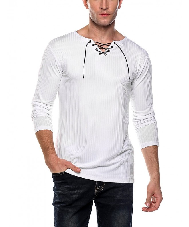 Coofandy Sleeve Casual T Shirt X Large