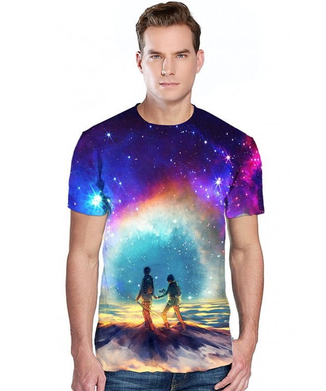 Sanatty Digital Printing Unisex Crew Neck