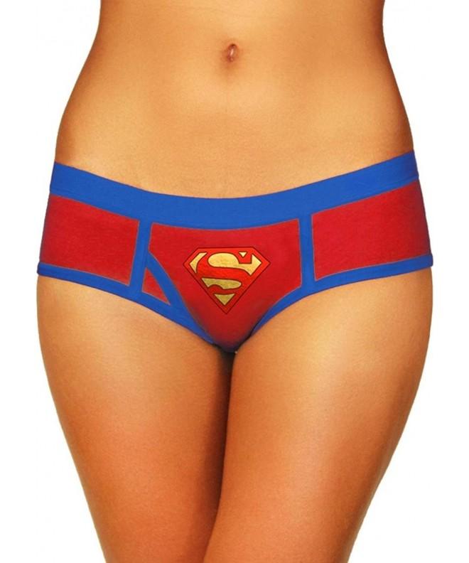 Superman Boyshort Foil Logo X Large