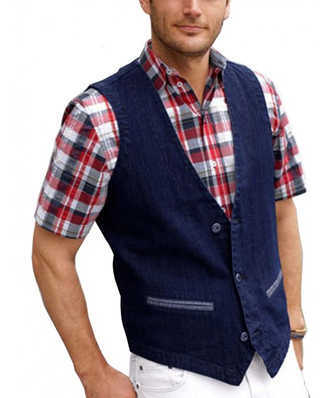 Coofandy Casual Jeans Denim Jacket