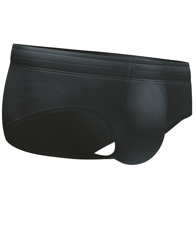 Genovi Mens Master Crafted Briefs Black