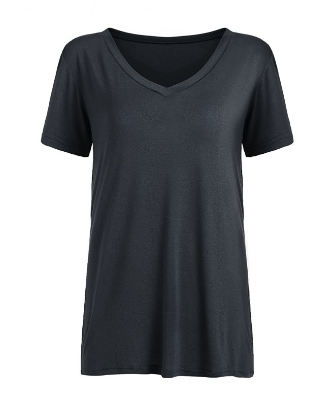 Floerns Womens Sleeve Casual T shirt