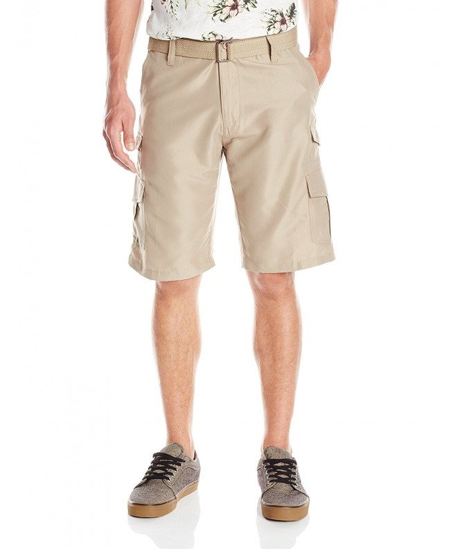 Burnside Solid Microfiber Cargo Short