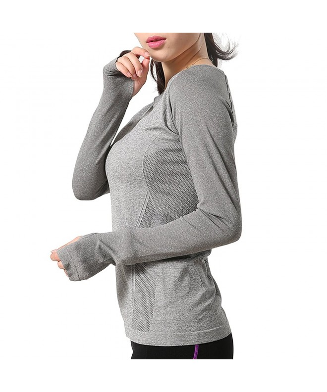 H Motion Womens Seamless Athletic T Shirt