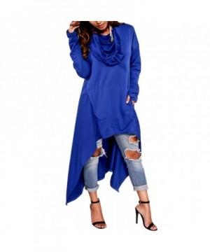 Womens Irregular Asymmetrical Sleeve Sweatshirt