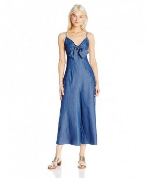 Soprano Juniors Womens Front Jumpsuit