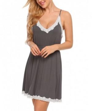 Ekouaer Babydoll Sleepwear Nightgown Nightwear