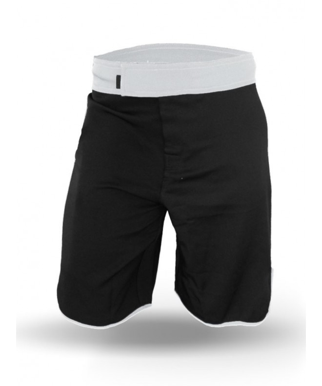 Men WOD Shorts Black White