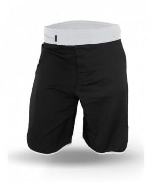 Men WOD Shorts Black White