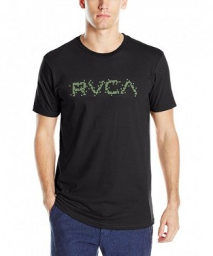 RVCA Mens Digi Black Medium
