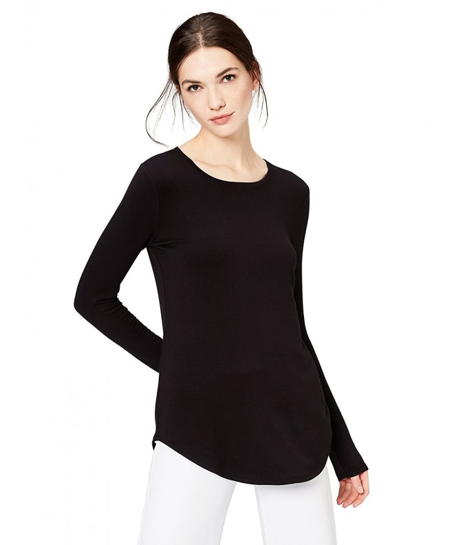 Daily Ritual Supersoft Long Sleeve Shirttail