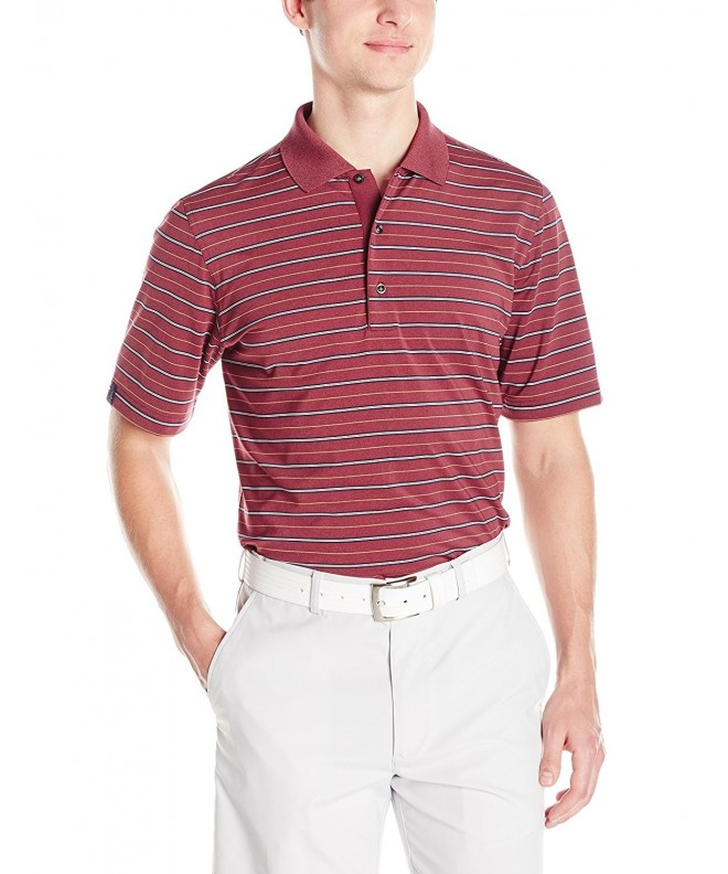 Greg Norman Stretch Stripe Heather