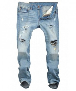 Sandbank Casual Washed Distressed Ripped