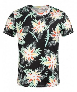 SSLR Printed Sleeve Hawaiian T Shirt