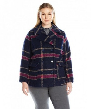 Jason Maxwell Womens Peacoat Button