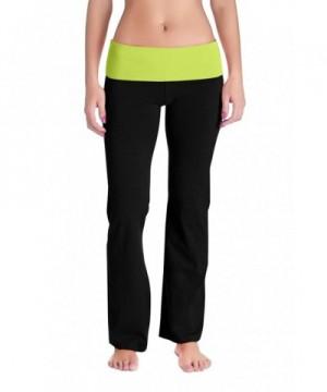 Womens Fold Waistband Sweat Pants