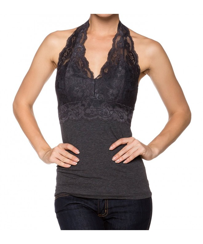 Bozzolo Halter Sleeveless Small Charcoal