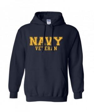 NAVY Veteran GOLD Hooded Sweatshirt