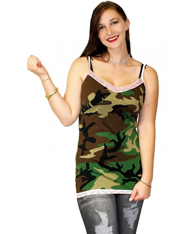 Nyteez Womens Camouflage Chemise XLarge