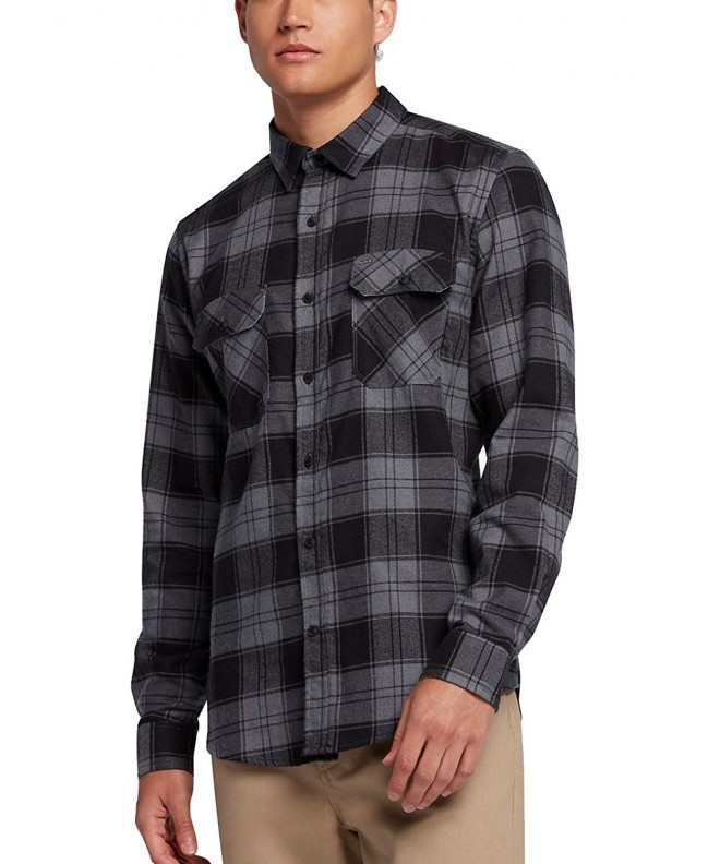 Hurley Dri Fit Sleeve Plaid XLarge