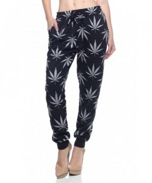 Calilogo Womens Marijuana Jogging X Large
