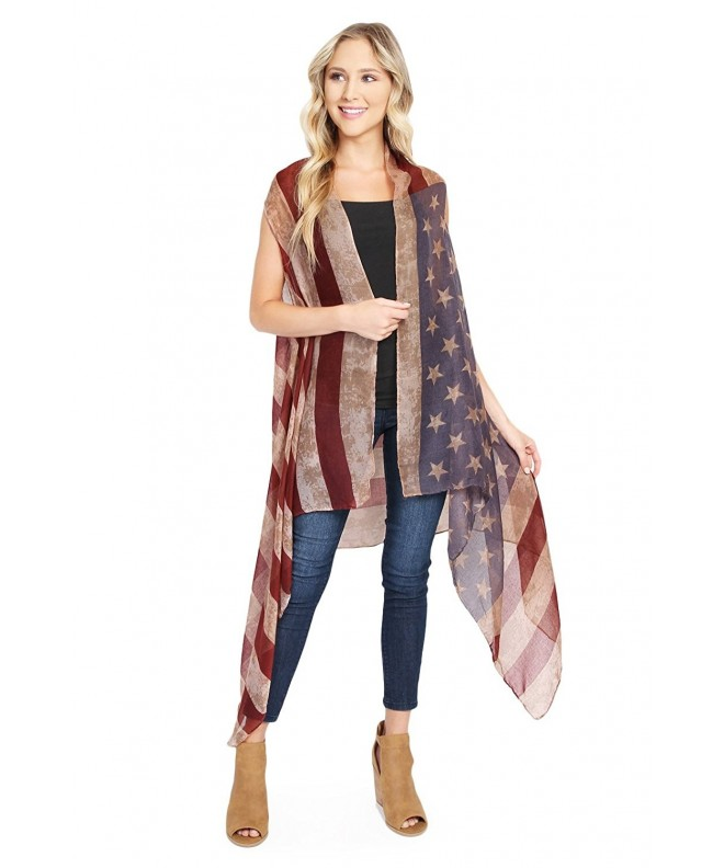 MYS Collection American Flag Cardigan