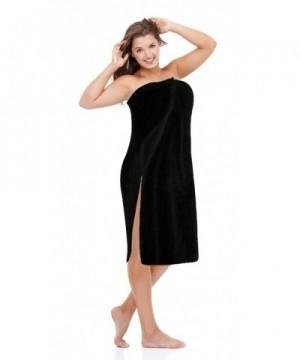 Luxury Wrap Womens Plus Black