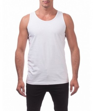 Mens Comfort Tank Large White