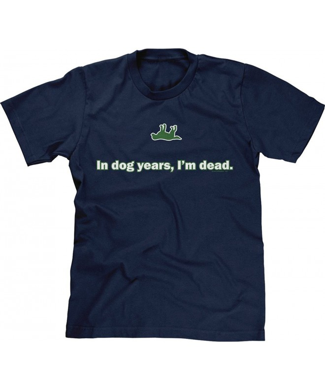 Blittzen Mens Years Dead Navy