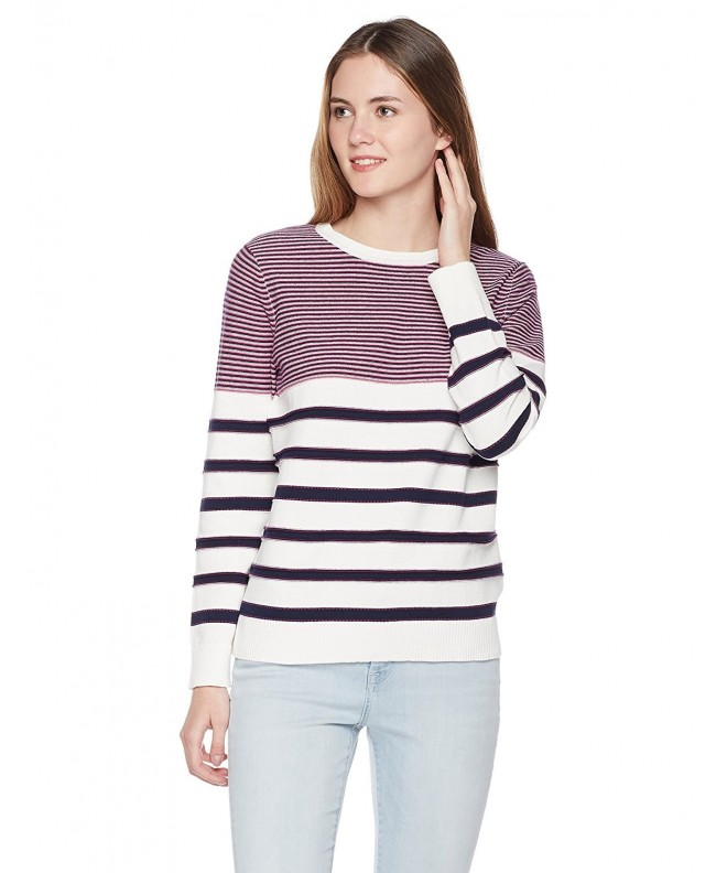 True Angel Womens Stripe Pullover