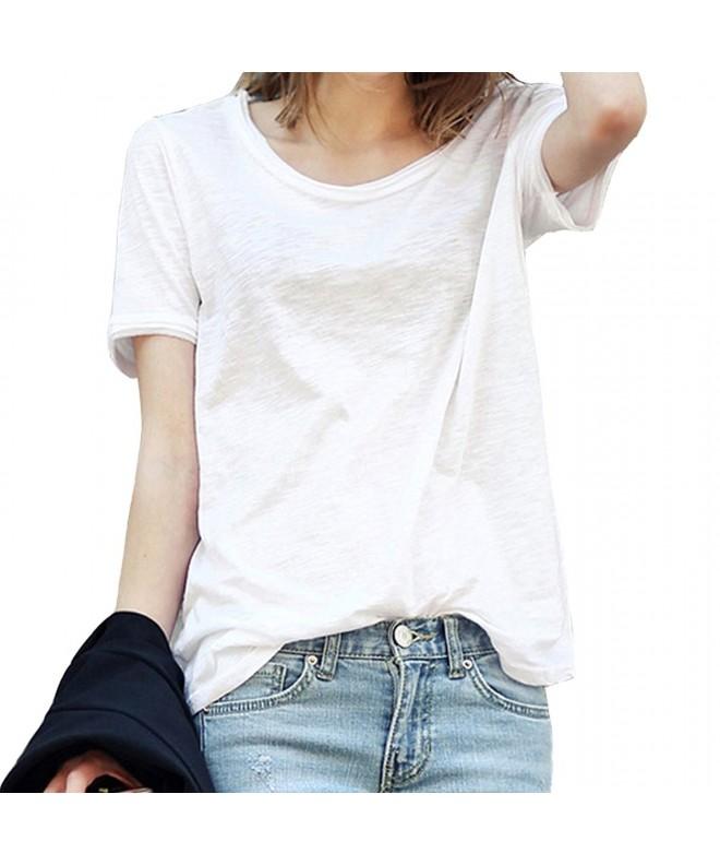 FELACIA Womens Fashion Sleeve T Shirt