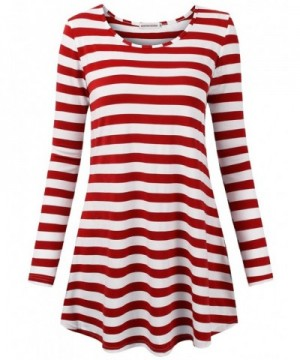 MOOSUNGEEK Striped Tshirts Sweater Business