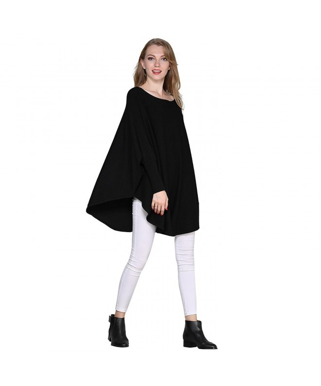 Nellbang Sweater Oversized Sleeve Pullover