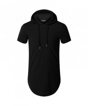 OLRIK Hipster Sleeve T shirt Zipper