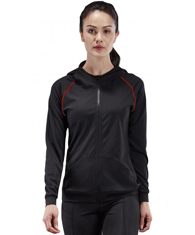 Neleus Womens Active Sports Hoodie