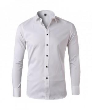 Bamboo Shirts Sleeve Casual Elastic