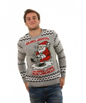 Rude Christmas Jumpers Always Knitted